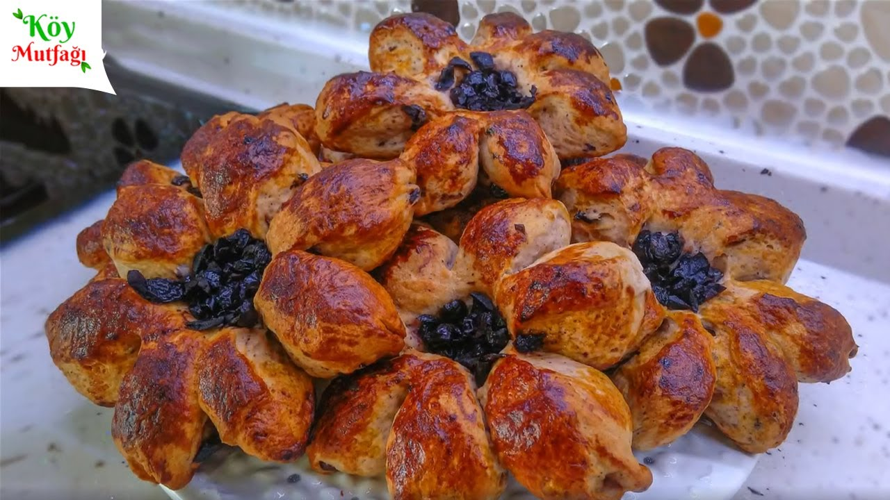 Kat Kat Kare Poğaça Tarifi-Pastry Recipe   Tadimiztuzumuz