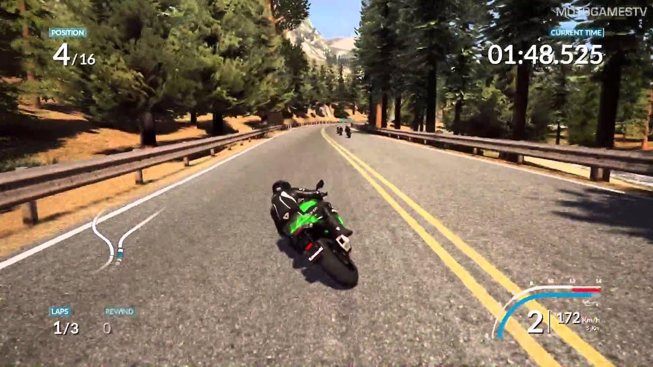 Ride Pc Demo Kawasaki Ninja Zx 10r Gameplay Youtube