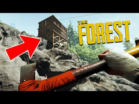 FINISHING OUR BASE! (The Forest)