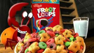 Froot Loops Black Beak commercial with friendly crab thumbnail