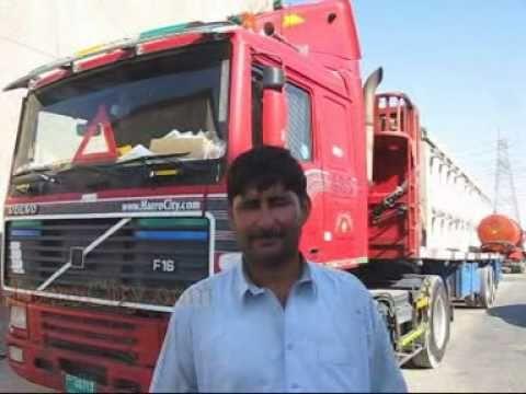 دبئی کے ٹریلر ڈرائیورسے گفتگو Dubai To Jeddah Mehr Ali Driver Of
