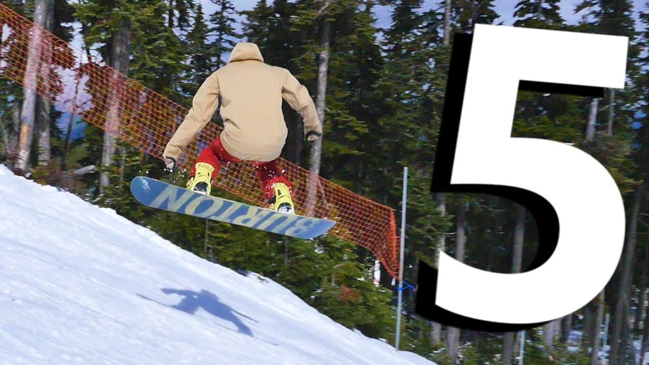 3367647fb32 5 Tips for Beginner Snowboard Jumps - YouTube