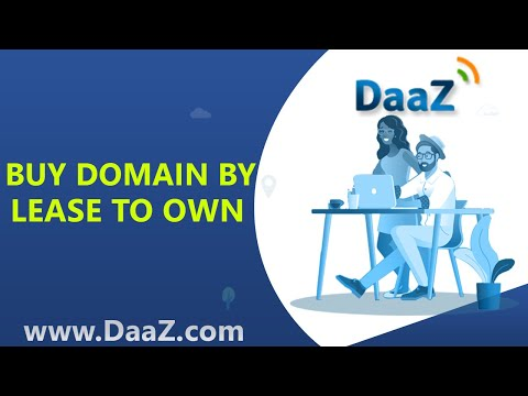 Buy a domain name by using Lease to Own Option