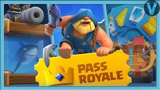 PASS ROYALE! ALL PASS ROYALE FOR 1 DAY / CLASH ROYALE