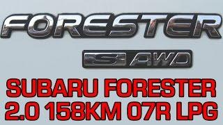 Montaż LPG Subaru Forester z 2.0 158KM BOXER 2007r w Energy Gaz Polska na gaz KME Nevo