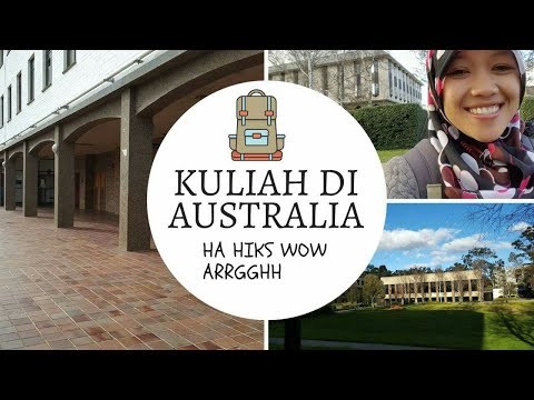KULIAH DI AUSTRALIA # Canberra # the Australian National University