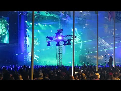 Helsinki 2017 New Year Celebration: HD Video Tour - Finland
