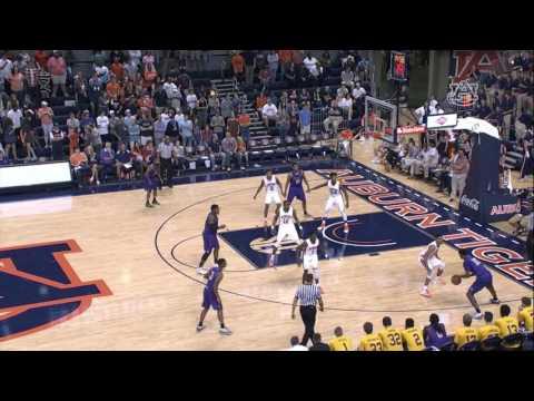 Auburn Basketball Highlights vs. Montevallo