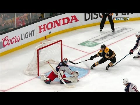 Bruins-Blue Jackets Game 1 4/25/19
