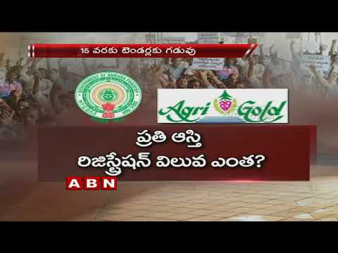 AP Goverment to Give Notification on Agrigold Assets Auction   ABN Telugu