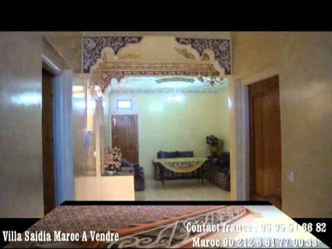 Maison Villa A Saidia Maroc A Vendre Youtube