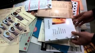 видео папки для ресторана кафе меню