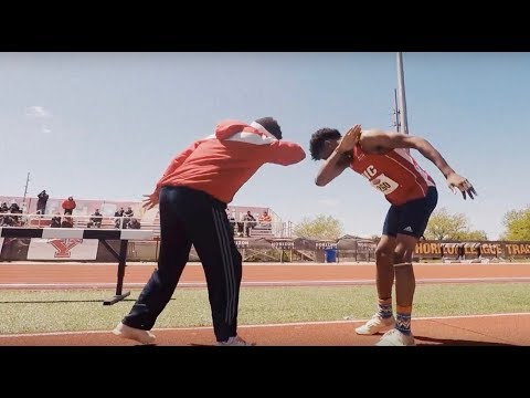 UIC Flames Track and Field 2017 Highlights