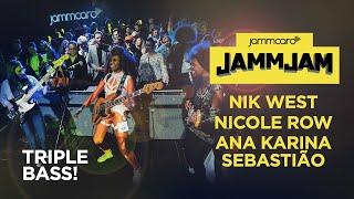 Triple Bass! Nik West, Nicole Row & Ana Karina Sebastião LIVE at the #JammJam with Fender