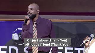 """""""Thank You"""" Walter Hawkins Nov  28, 2020"""