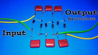 Make a Voltage Multiplier curcuit! 2x,3x,4x....