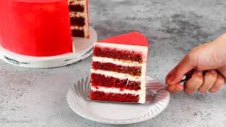 ПО ВАШИМ ПРОСЬБАМ Торт КРАСНЫЙ БАРХАТ подробный РЕЦЕПТ Red Velvet Cake
