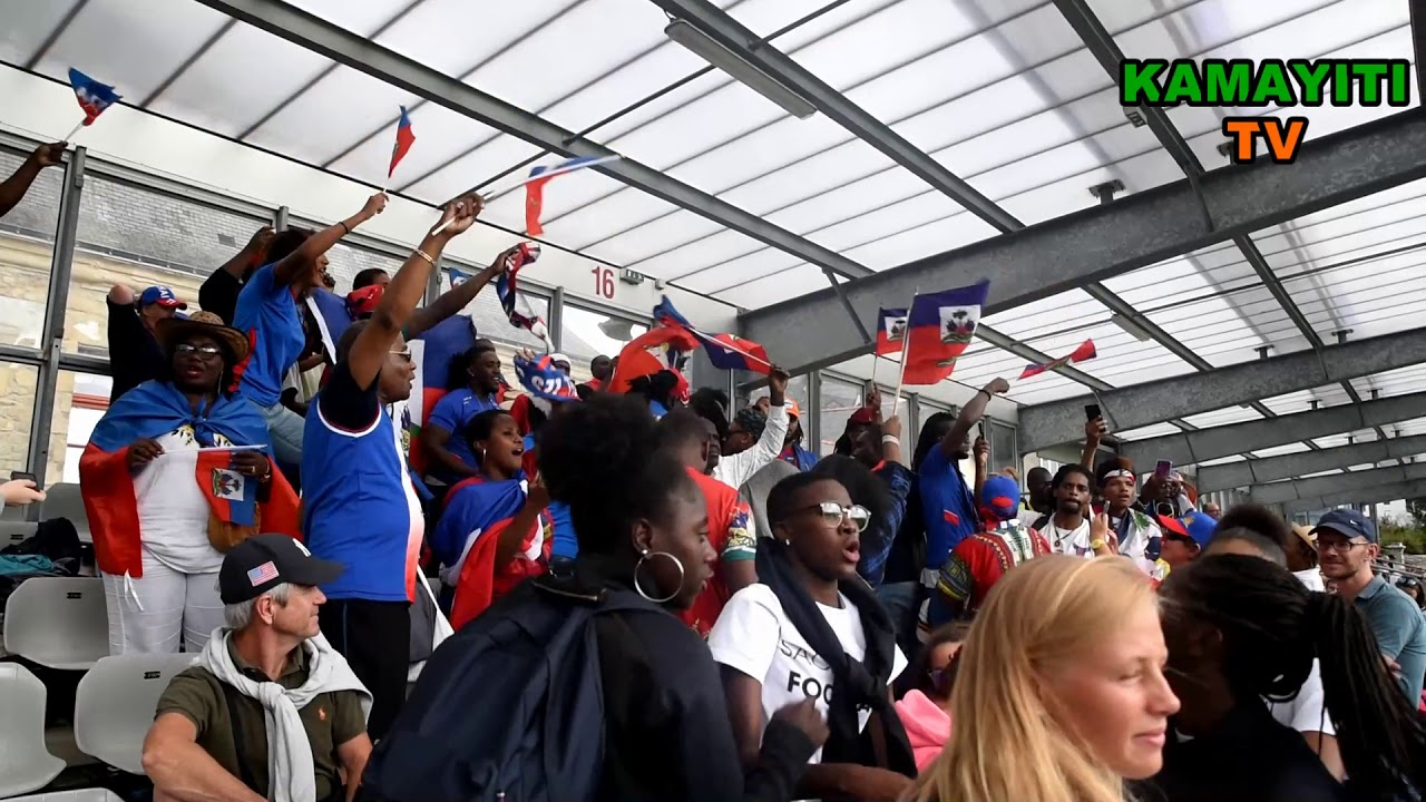 Haïti vs Allemagne à Vannes, Ambiance dans le Stade...