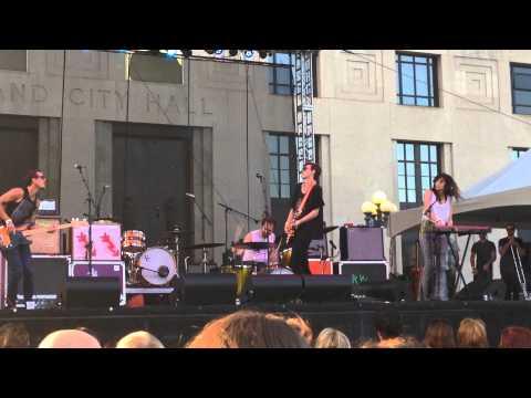 Houndmouth - Hey Rose, Live on the Green, Nashville TN 2015