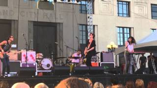 Houndmouth - Hey Rose, Live on the Green, Nashville TN 2015