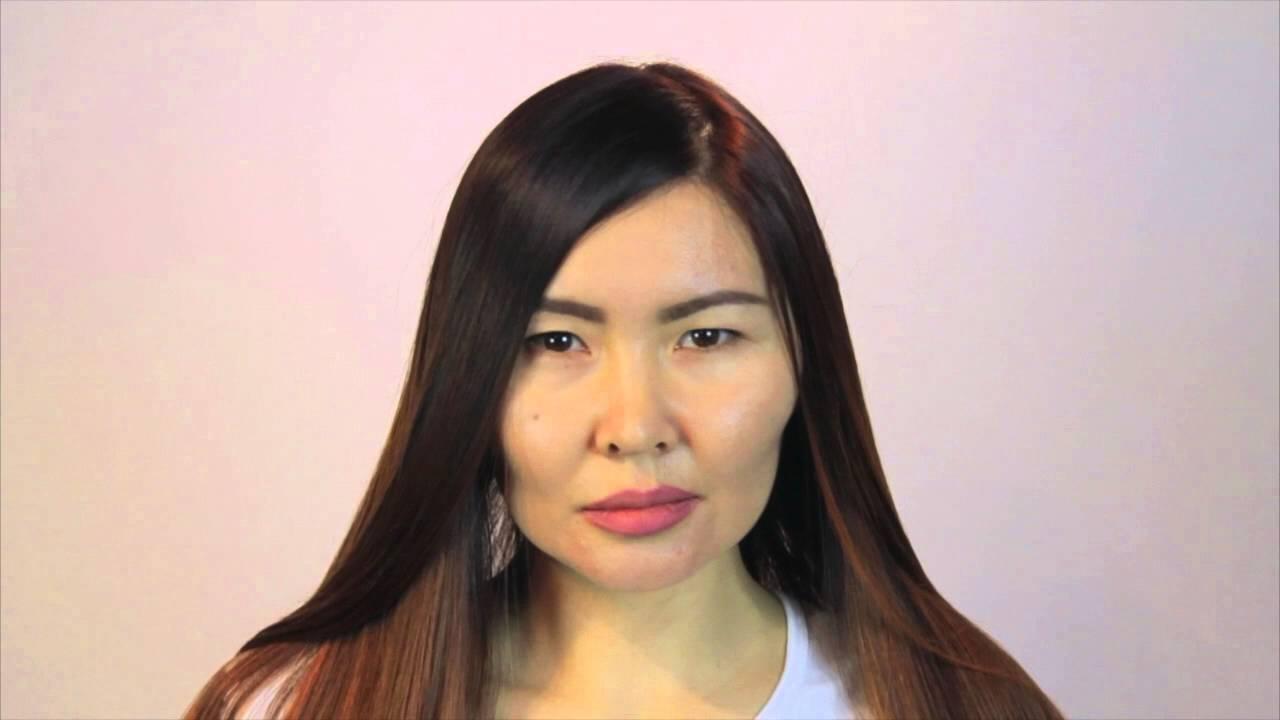 Окрашивание Ombre Hair Color на темные волосы