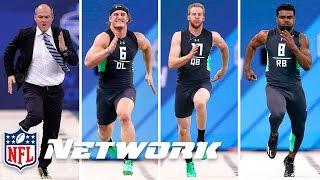Rich Eisen vs. The 2016 Combine 40-Yard Dash Simulcam Race | 2016 NFL Combine