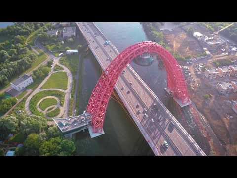 Отлетим! Живописный мост на Москве-реке, Крылатское