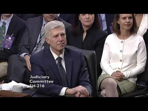 Day 3 of SCOTUS Nominee Hearing: Senator Tillis Chairing Senate Judiciary Committee