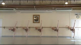 Vaganova Ballet Academy,Classical Exam 2015 8th grade