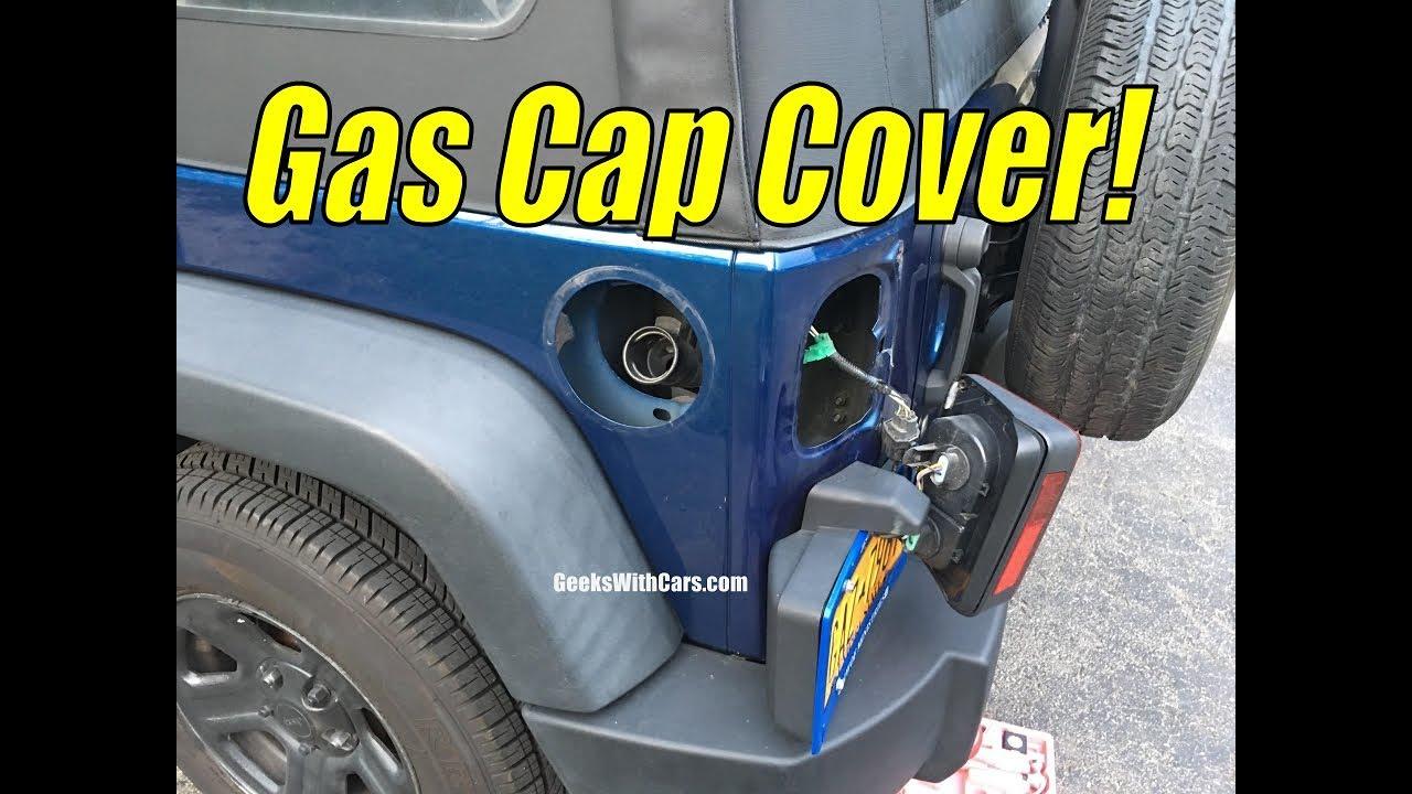 Jeep Wrangler Unlimited Gas Cap Install + Future Jeep Wrangler Build