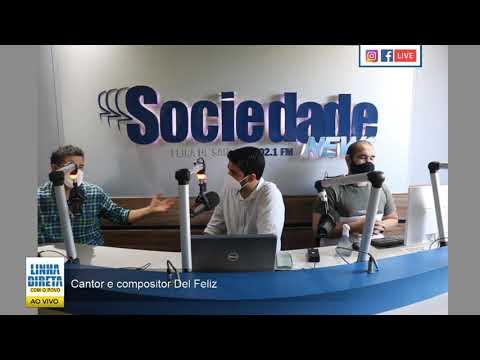Cantor e compositor Del Feliz fala sobre os projetos e dificuldades durante da pandemia