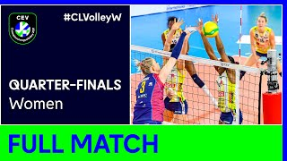 A. Carraro Imoco CONEGLIANO vs Savino Del Bene SCANDICCI - CEV Champions League Volley 2021 Women QF
