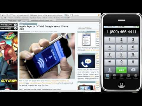How To Make & Receive Free Calls w/ Google Voice on iPhone