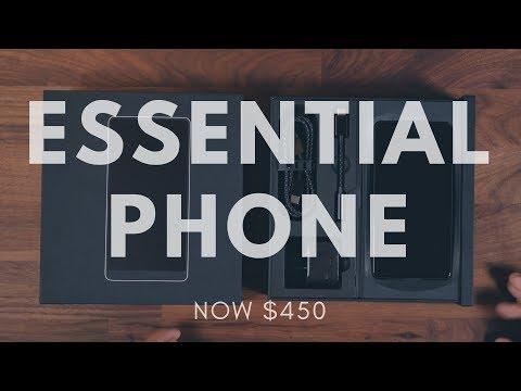 Essential Phone Unboxing! - Post Price Drop! [$450]