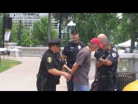 Man arrested at Capitol for alleged bomb threats · The
