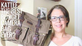 Best Budget Camera Bag - Kattee Camera Bag Review