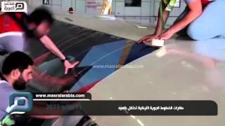 مصر العربية |  طائرات الخطوط الجوية التركية تحتفل بالعيد