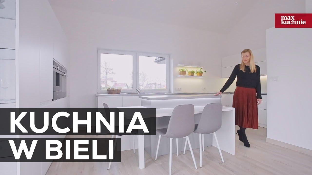 Kuchnia W Bieli Studio Max Kuchnie Grupa Meblox Chrzanów