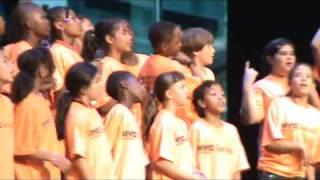 """PS22 Chorus """"Empire State of Mind"""" Radio City (Jay-Z Alicia Keys)"""