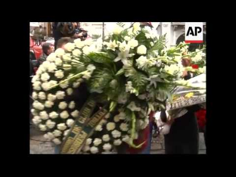 WRAP Funeral of murdered politician in Basque region