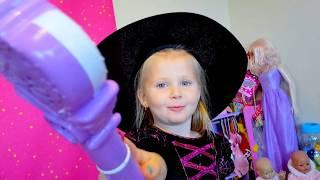 Эльвира Превращается в Принцесс с помощью волшебной палочки