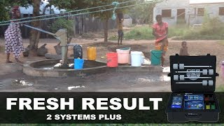 field test with fresh result 2 systems plus device in Africa