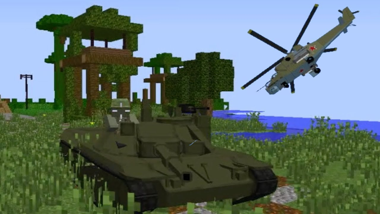 Minecraft Server Event: Vietnam WAR? - Tier 10 release