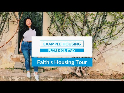 Student Housing Tour | Florence, Italy