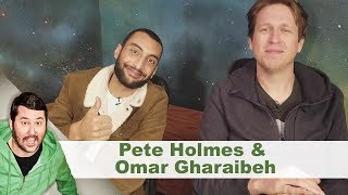 Post-Sesh Interview w/ Pete Holmes & Omar Gharaibeh | Getting Doug with High