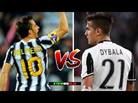 Juventus F.C. ● Paulo Dybala Vs Alessandro Del Piero ● 1080i HD #Juventus #Dybala #DelPiero