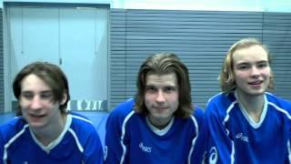 Hurja joukko - Suomen U19-poikien maajoukkue MM2015-kisoissa!