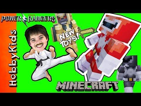 Minecraft POWER RANGER TOY Surprise