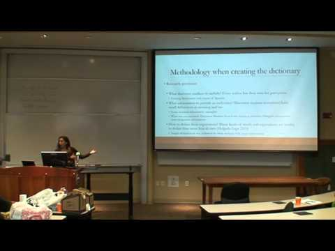 Anais Holgado Lage - The Dictionary of Spanish Discourse Markers for Spanish Students (LSUGA 2015)