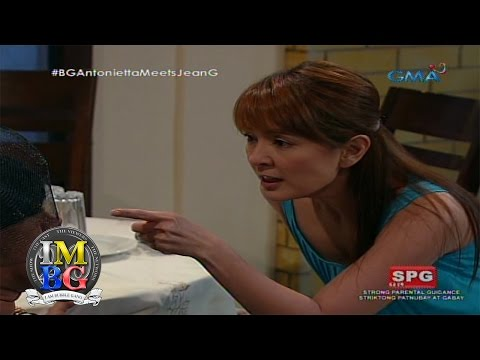 Bubble Gang: Antonietta meets Ms. Jean Garcia